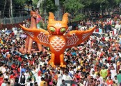 Pahela Baishakh celebrated amid huge enthusiasm