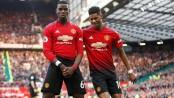 Pogba penalties save Man Utd, Tottenham move up to third