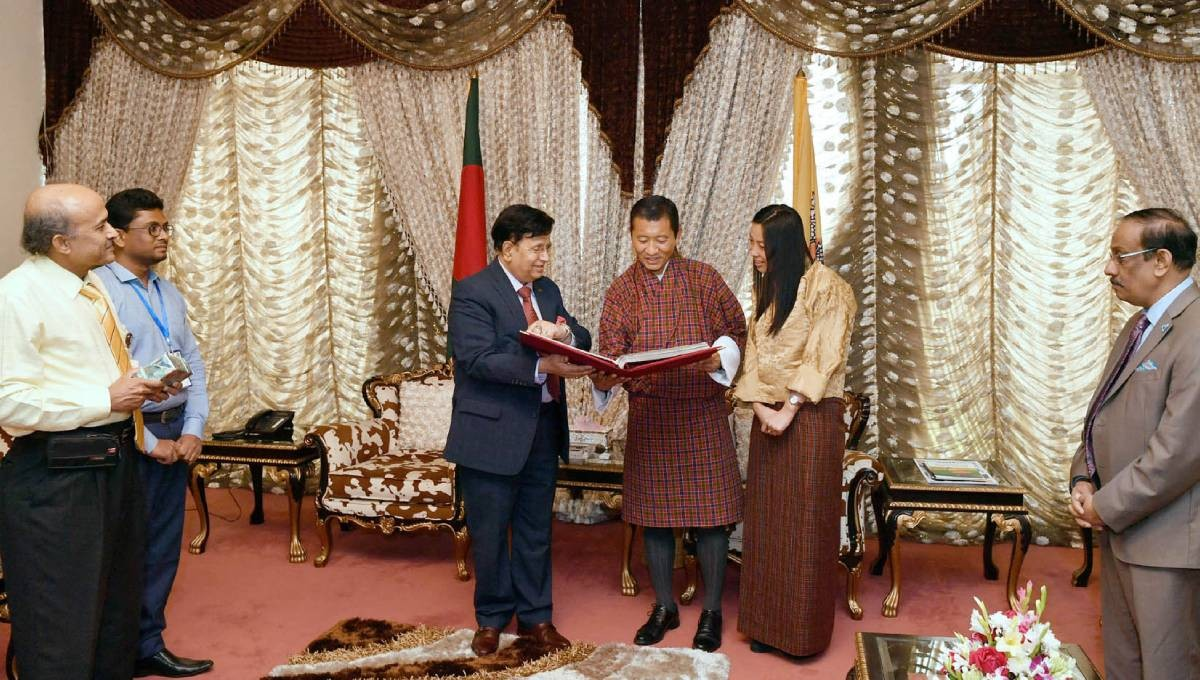 Bhutan thankful to Bangladesh for providing opportunities to its students