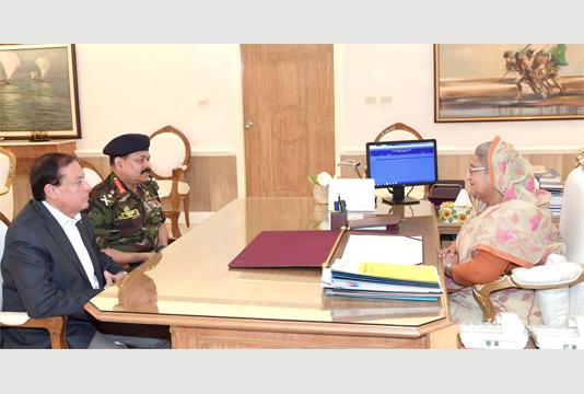 BOA president, SG call on Prime Minister