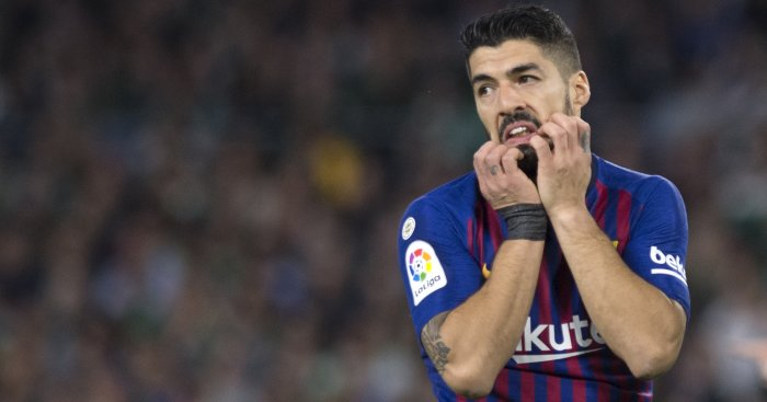 Suarez hopes to end CL scoring drought as Barca faces Manchester United