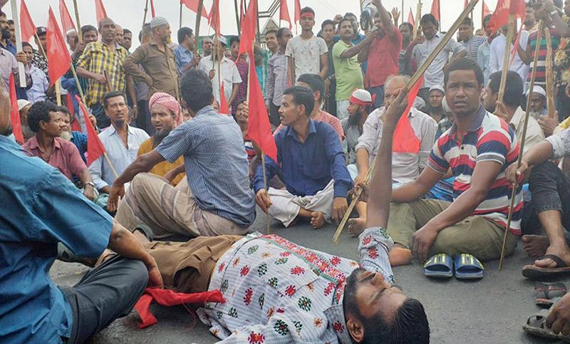 Jute mills workers' 96-hour nationwide strike underway