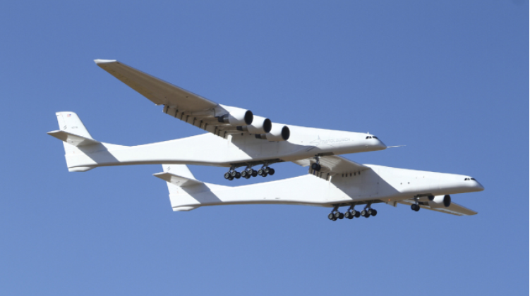 World's largest airplane flies for first time