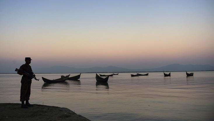 Maynmar BGP picks up 4 Bangladeshi fisherman
