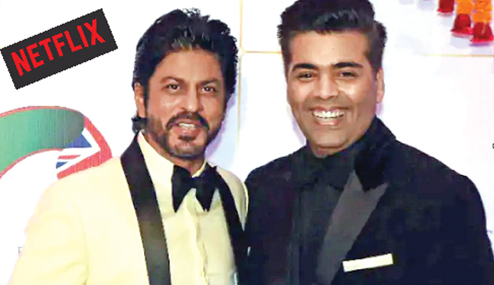 Netflix partners with SRK, Karan to stream new films