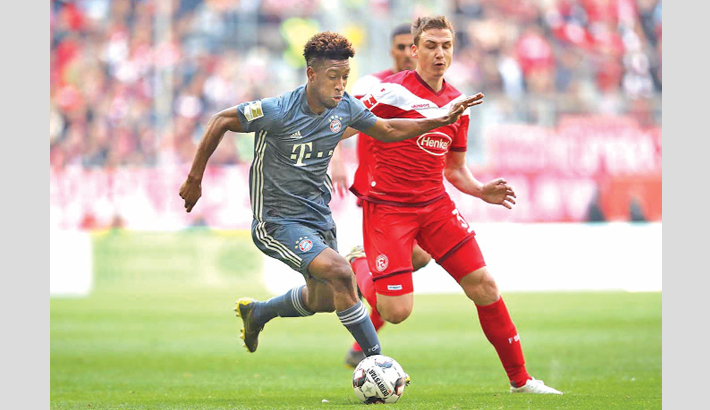 Bayern return to top
