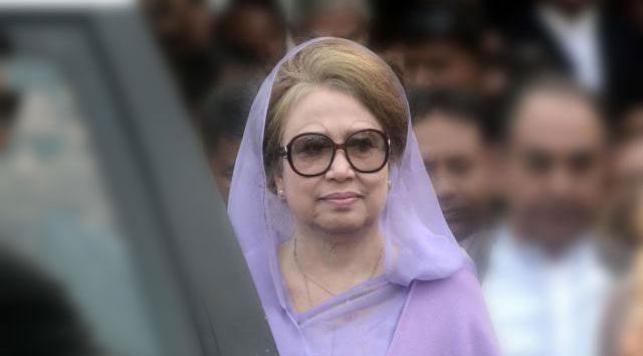 Khaleda's appearance in 11 cases on June 12
