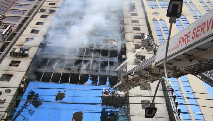 FR Tower fire sparked by short-circuit: Enamur Rahman
