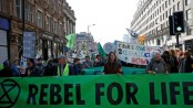 Extinction Rebellion: Climate protesters block roads