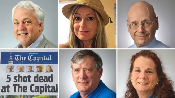 Pulitzers: Capital Gazette wins for coverage of newsroom massacre