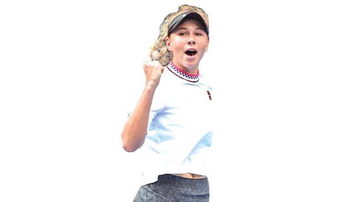 American teenager Anisimova closes on WTA top 50