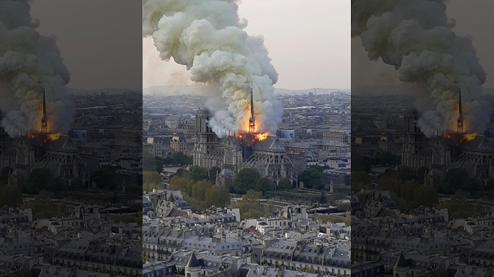 $1 billion raised to rebuild Paris' Notre Dame after fire