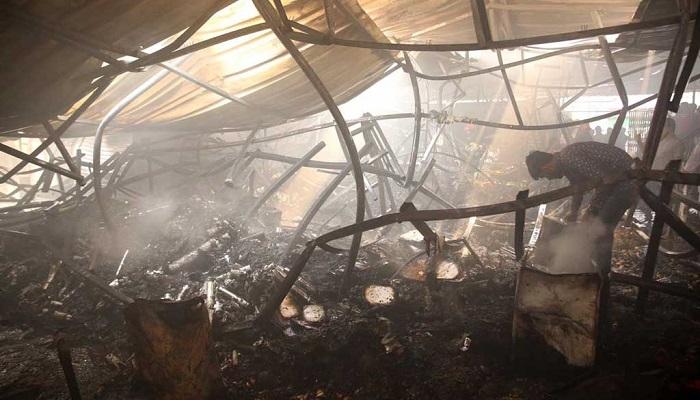 DNCC kitchen market fire victims get compensation