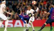 Messi magic thrashes Man United 3-0 at Camp Nou
