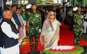 Prime Minister  pays homage to Bangabandhu on Mujibnagar Day