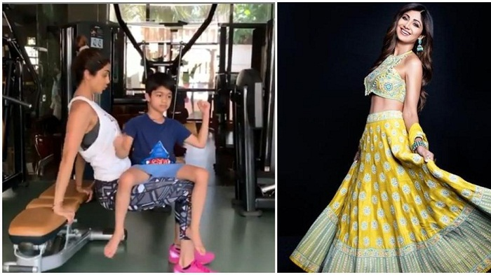 Shilpa Shetty's latest workout with son Viaan is a 'mommy special