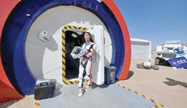Mars base for teens opens in China's Gobi desert
