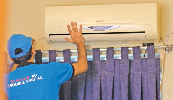 Singer launches free AC cleaning campaign