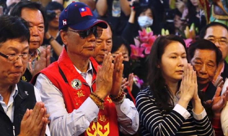 Taiwan's Foxconn boss Terry Gou says sea goddess inspired presidential bid