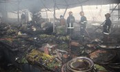 Malibagh Kitchen market fire: Estimated loss is Tk 5 crore