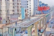38.53 percent work of phase-1 of metro rail done