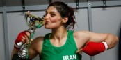 Iranian female boxer to stay in France over arrest fears