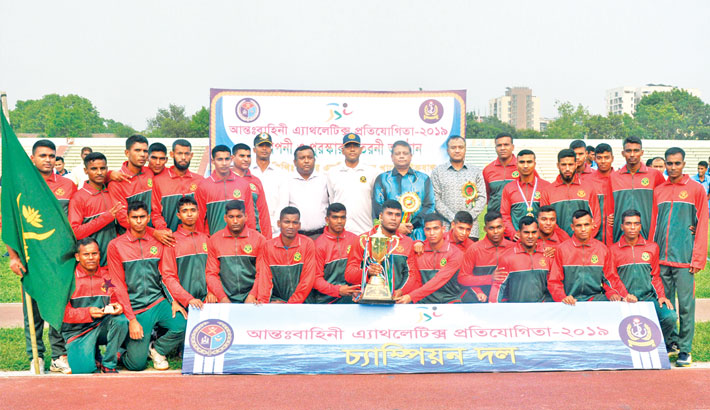 Army clinch Inter-service Athletics