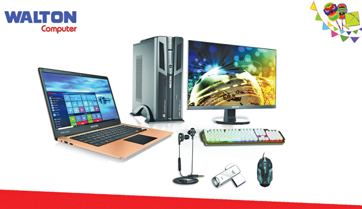 Walton offers up  to 18pc discount on computer items