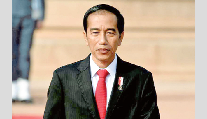 Widodo declares victory amid dispute