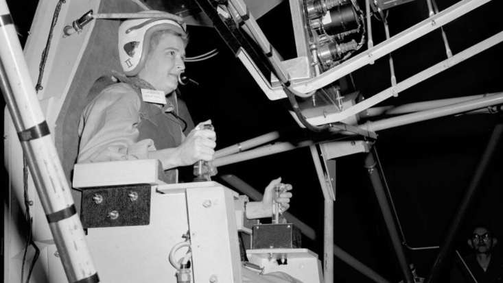 America's 1st female astronaut candidate dies