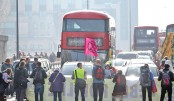 Climate-change protesters disrupt London train service