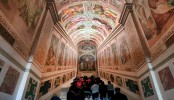 Vatican displays Holy Stairs for the first time in 300 years