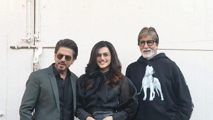Tapsee throws Badla Party on Amitabh Bachchan demand from Shah Rukh
