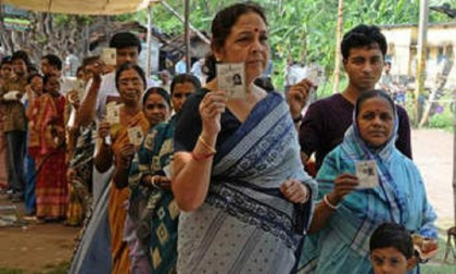 Second phase of Lok Sabha poll ends 'peacefully'