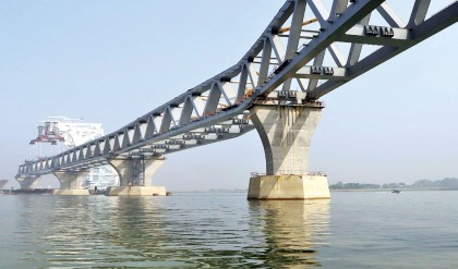 11th span of Padma Bridge to be installed on April 23