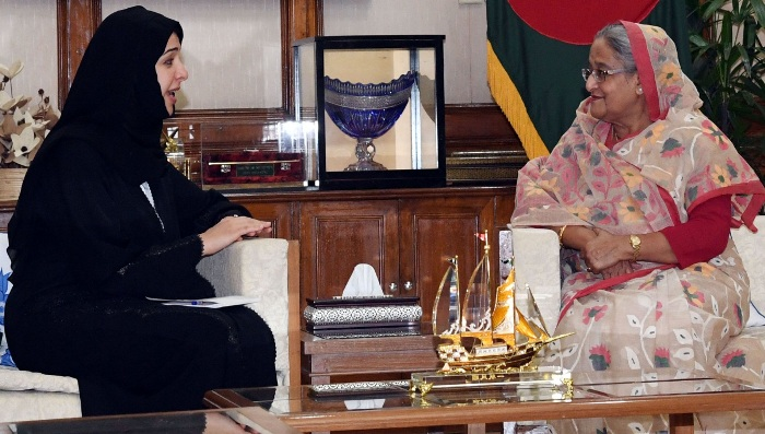UAE to continue support over Rohingya issue, its minister tells PM