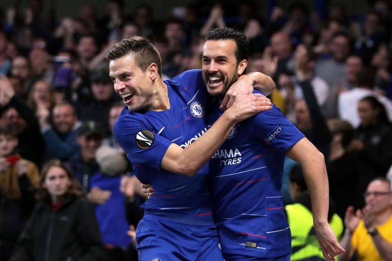 Chelsea beat Slavia Prague to reach Europa League semi-finals