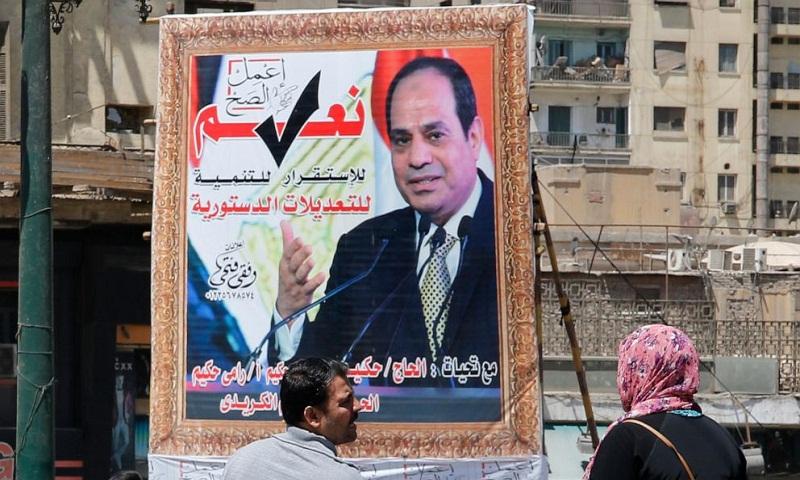 Egypt begins vote on extending el-Sissi's rule