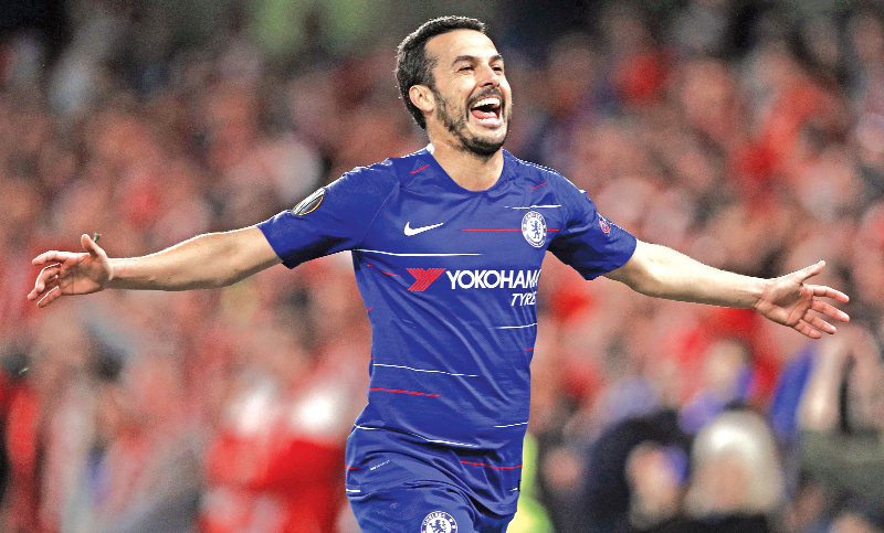 Chelsea fight off Slavia to join Arsenal in Europa semis