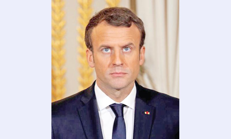 Macron meets Syrian Kurds