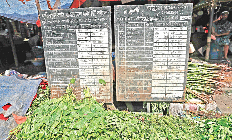 Hatirjheel kitchen market