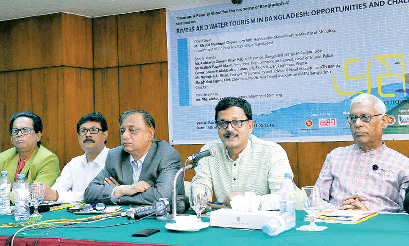 Seminar on 'Rivers and Water Tourism in Bangladesh'