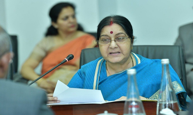 Amid violence in Libya, Sushma Swaraj asks Indians to leave Tripoli immediately