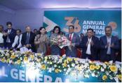 Rubana takes office as first female president of  BGMEA