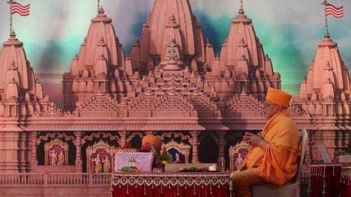 Stone laying ceremony of Hindu temple in UAE on Saturday