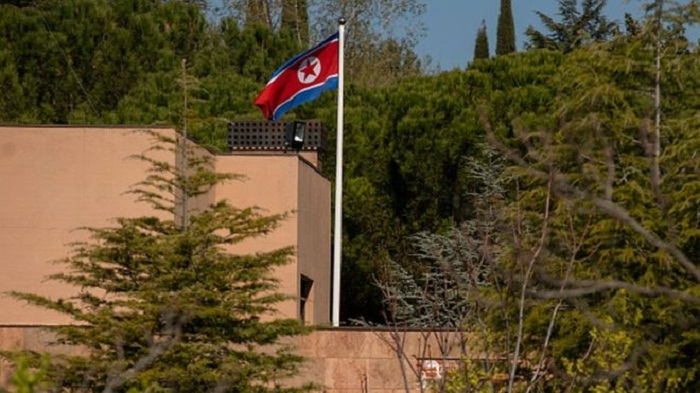 US marine 'arrested over N Korea embassy raid in Madrid'