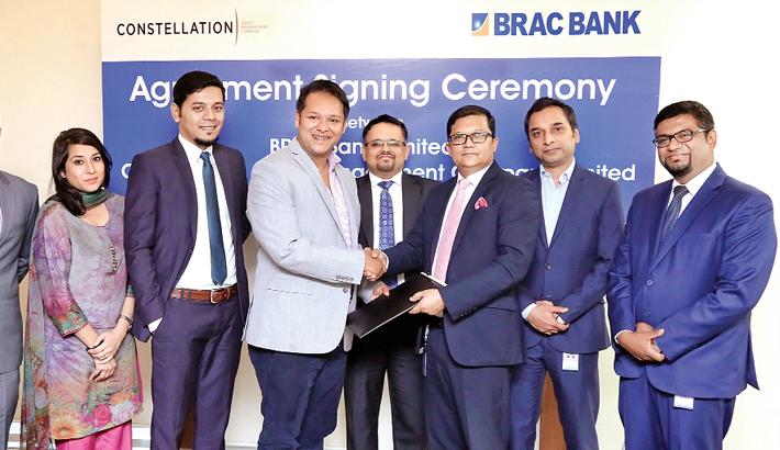 BRAC Bank,  Constellation Asset Management  Co ink deal