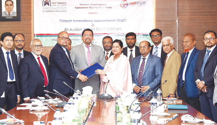 Al-Arafah Bank  signs deal with  Fintech Innovations