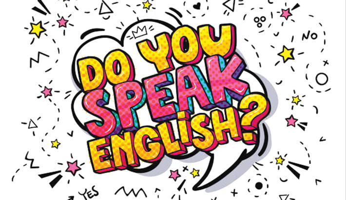 Recognise English as second language