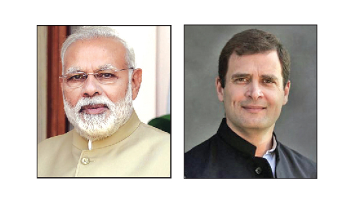 Modi more popular in north, Rahul in south